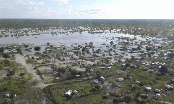 Überschwemmungen im Südsudan 2019