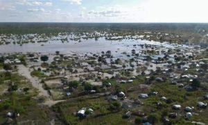 Überschwemmungen im Südsudan nach sintflutartigen Regenfällen
