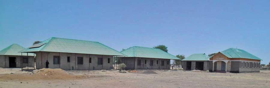 Unterkunft ür das TTC-Lehrerkollegium im Ausbildungszentrum Wulu bei Turalei (Sü)dsudan