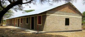 Das fertiggestellte Mädchenwohnheim in Gidel
